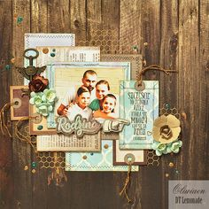 CraftHobby Oliwiaen: The Family. layout 30x30