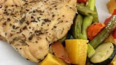 Baked split chicken breasts cook up with delicious, crispy skin. They turn a simple dinner into a sensational meal.