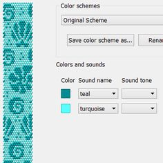 Sea shells - Free crochet bead bracelet necklace pattern for Chudibeads Universal Reader