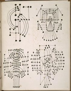 , 1920s, Constellation, Drawing, Pen and Ink, Sketchbook