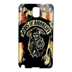 Sons of Anarchy SOA Samsung GALAXY Note 3 hard case cover | bestiphone5caseshop - Accessories on #ArtFire #GALAXYCASE #NOTE3
