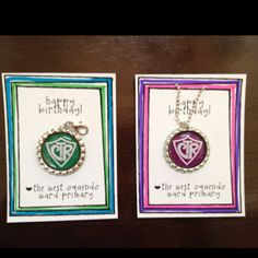 Made these for my primary kids' birthday gifts for 2012. Necklaces for girls, zipper pulls for boys.