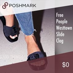 Coming soon Free People Westtown Slide Clog Images will be posted later! Free People Shoes Mules & Clogs