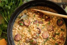 South Louisiana-Style White Beans & Rice :: Recipes :: Camellia Brand