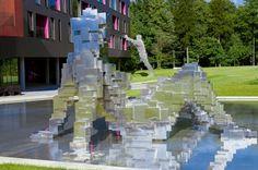 Prague-based Labor 13 have designed Miura Hotel located in Celadna, Czech Republic.