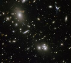 Gravitational Lensing around Abell  from Hubble  #space #gravitational #lensing #abell #hubble