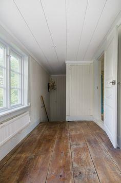 öv Hall - plankgolven i original