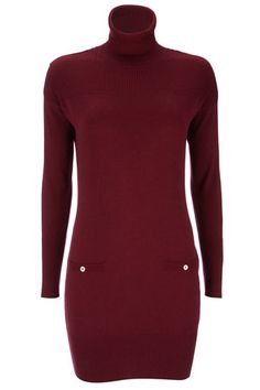 Purple Military Polo Dress , bang on trend and snuggly too Latest Fashion, Womens Fashion, Bangs, Fashion Dresses, Trousers, Polo, Turtle Neck, Military, Clothes For Women