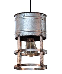 Look at this Metal Hanging Light on #zulily today!
