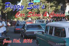 Saturday, June 11, 5:30-8:30 p.m. cruising in downtown Santa Rosa!