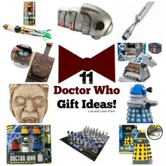 11 Doctor Who Gift Ideas | Live and Learn Farm