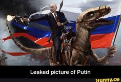 Leaked picture of Putin