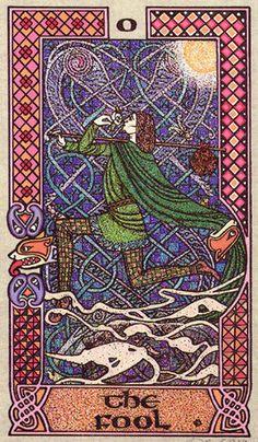 Celtic Tarot - Fool