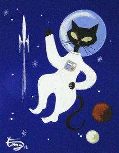 Hep Cats: Artist El Gato Gomez's Cool Retro Kitties | Catster