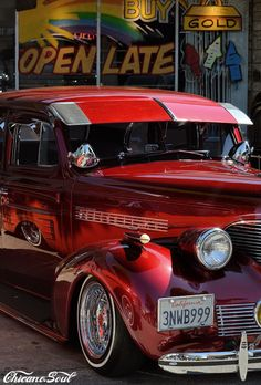 """""""Open Late"""" www.ChicanoSoul.net Ride Or Die, My Ride, Old School Cars, Chicano, Lowrider, Wheels, Photography, Stuff To Buy, Bombshells"""