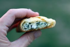 Spinach & Cheese Hand Pies - Dirty Gourmet