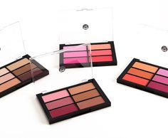 Round-up: Viseart Blush Palettes Overview