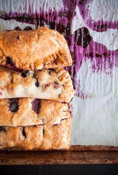 Blueberry cinnamon hand pies are a packable, picnic-ready treat.