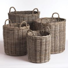 Normandy 4 Piece Basket Set