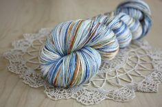 Hand Dyed Yarn, Fingering Weight