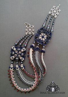 Irina Slobodyanik - Ukrainian ethnic necklace