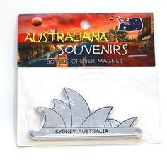 Sydney Opera House, Fridge-Magnet, Bottle-Opener   MAOH-SILVER