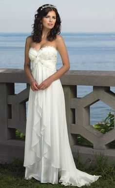 Best Chiffon Sweetheart Ruffled Wedding Dress - Cheap Wedding Dresses Wholesale and Retail Online Store
