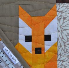 Sew Fresh Quilts: Fox among the Birches