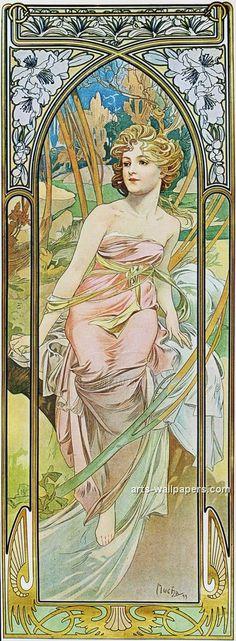 alphionse mucha  | Alphonse Mucha Prints and Poster Buy a Poster