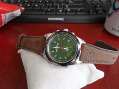 Timex Expedition Indiglo WR Mens Watch w/ Genuine Leather Band! Timex Expedition, Watches For Men, Sport, Band, Leather, Accessories, Pictures, Photos, Deporte
