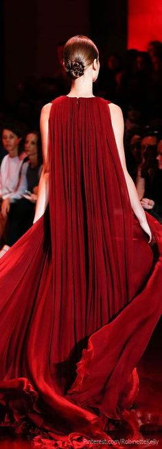 Red Goddess Elie Saab F/W 2013