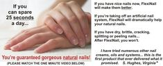 Gorgeous nails in just 25 seconds a day with FlexNail