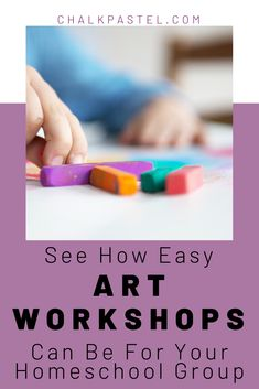 Art is flexible when it comes to planning educational lessons. Here are some easy art workshops for your homeschool group with Nana of You ARE an Artist. Homeschool Curriculum Reviews, Homeschool Books, Homeschooling, Easy Art, Simple Art, Art Lessons For Kids, Art Education, Online Art, Kids Crafts
