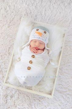 Idea para fotos de recién nacido.