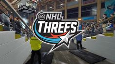 NHL 18 THREES GAME MODE CIRCUIT PACIFIC CHAMPIONSHIP HD PS4 GAMEPLAY