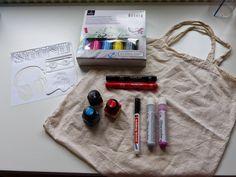 Textiles Gestalten (Jutebeutel DIY)