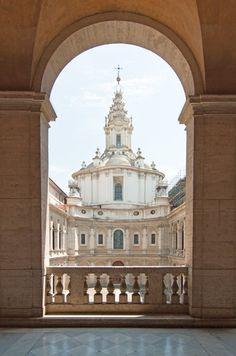 Sant'Ivo alla Sapienza - Rome, Italy - 1642-1660, Borromini