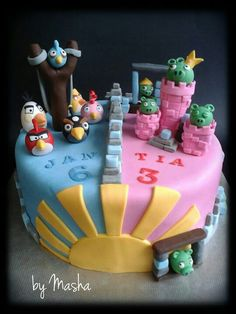 Cake Ideas For Boy And Girl : 1000+ images about Party Ideas on Pinterest Photo booth ...