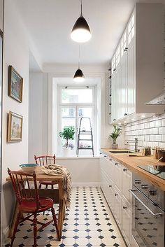 54 Best Small Kitchen Design Ideas for Your Small Kitchen 5 - Idea Wallpapers , iPhone Wallpapers,Color Schemes Apartment Kitchen, Kitchen Interior, Kitchen Decor, Kitchen Ideas, Eclectic Kitchen, Kitchen Layout, New Kitchen, Design Kitchen, Space Kitchen