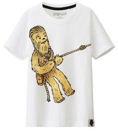bcd31bab8a7ac T-Shirt Star Wars Uniqlo Enfant (1) Geek Shirts