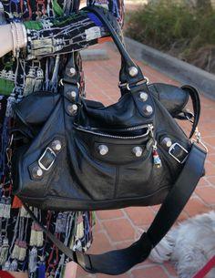 Away from the blue Balenciaga GSH black part time smooshy Best Bags, Celine Bag, Balenciaga City Bag, Purses And Handbags, Style Icons, Designer Handbags, Divas, Fashion Inspiration, Passion