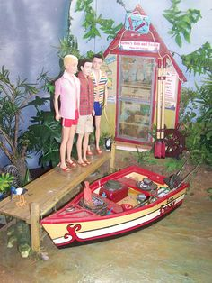 Reproduction Kens Going Fishing Diorama, photo by Rieckie, via Flickr