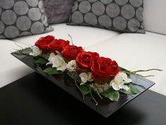 Contemporary Wedding Flowers, Contemporary Flower Arrangements, Spring Flower Arrangements, Funeral Flower Arrangements, Vase Arrangements, Floral Centerpieces, Nylon Flowers, Diy Flowers, Flower Vases