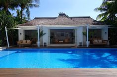 Villa Lulito cool nautical, open plan, and beach house design is based on Ralph Laurens home in the Caribbean.