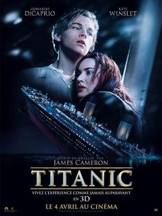 A gallery of Titanic publicity stills and other photos. Featuring Kate Winslet, Leonardo DiCaprio, James Cameron, Billy Zane and others. Titanic Movie Poster, Film Titanic, Rms Titanic, Film Movie, James Cameron, Leonardo Dicaprio, Film Romance, Film Catastrophe, Titanic Quotes