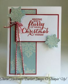 Flurry of Wishes and the Try Stamping on Tuesday Challenge | As The Ink Dries | Bloglovin'