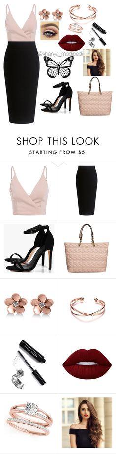 """Date night"" by khanya-modibedi on Polyvore featuring Theory, Boohoo, Karl Lagerfeld, Allurez, Bobbi Brown Cosmetics and Lime Crime"