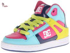 DC, Chaussures de skateboard garçon - Multicolore - Multicolore, 44 EU - Chaussures dc shoes (*Partner-Link)