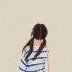 Cute Easy Drawings, Cute Cartoon Drawings, Anime Girl Drawings, Cartoon Art, Cute Disney Wallpaper, Girl Wallpaper, Heart Wallpaper, Beautiful Girl Drawing, Girl Couple