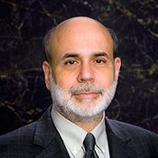Chairman of the Federal Reserve, Ben Bernanke; I admire people who are IN the storm working, compared with those at the sidelines sneering.